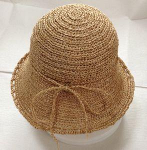 花コサージュ帽2