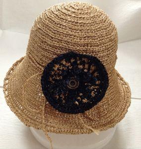 花コサージュ帽3