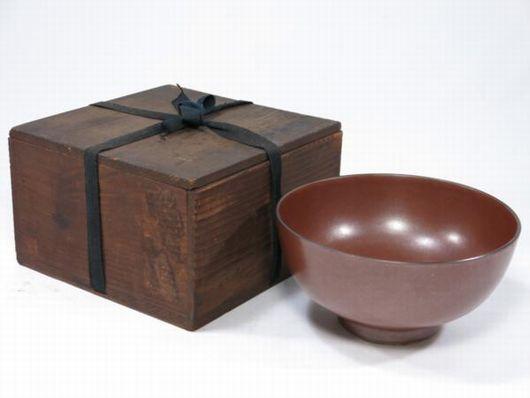 茶道具 萬歴年製 柿南京 鉢