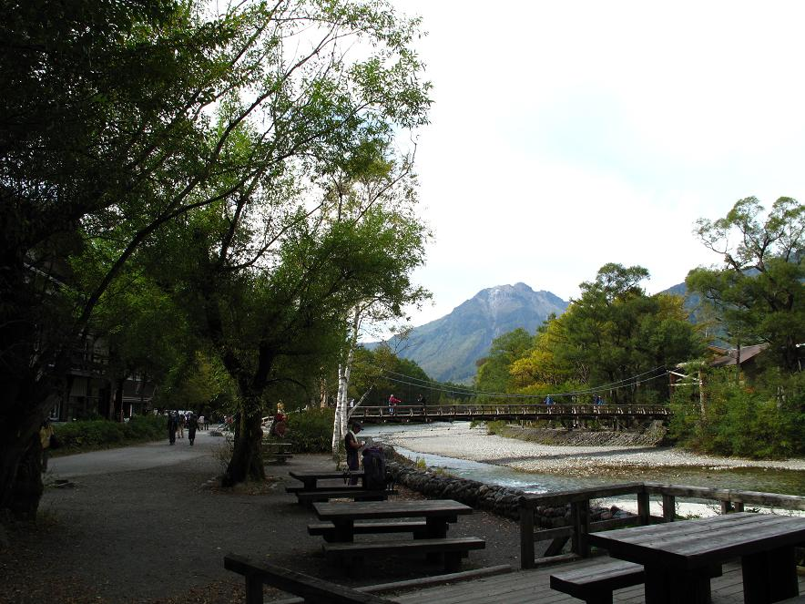 小梨から見る河童橋