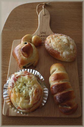 2012/9/11惣菜パン1