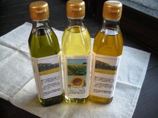 ヒマワリ。菜種油