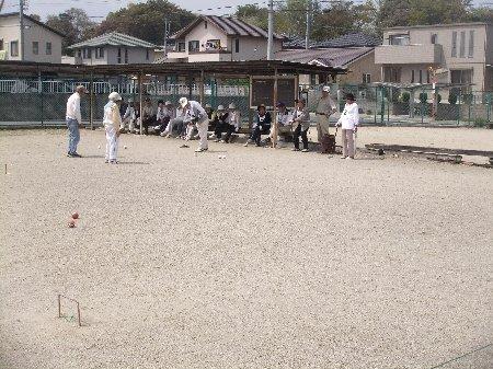 ゲートボール試合