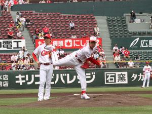徳井 マウンド