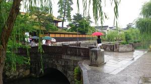 雨の美観地区