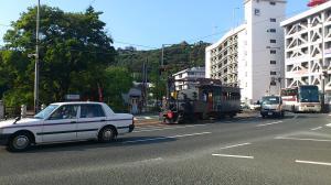 松山城×坊ちゃん列車