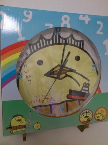バリィさん時計