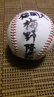 梅野サイン