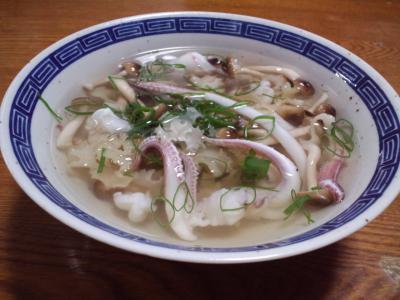 ヤリイカスープ