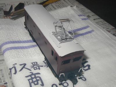 2012年10月6日 ED31 6② 塗装完了