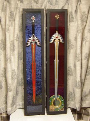 M様 ロトの剣&トロの剣をケースに飾ったお写真
