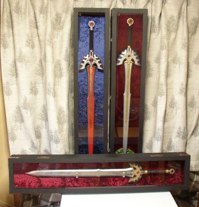 M様 ロトの剣&トロの剣 飾った写真♪