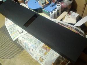M様 トロの剣用 ディスプレイース 製作過程