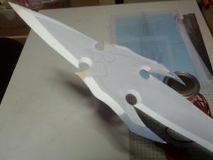 W様 天空の剣 製作過程