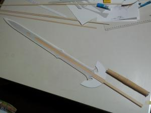 I様 ロトの剣(ドラクエ展ver) 製作過程