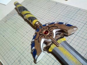 I様 ロトの剣 製作過程