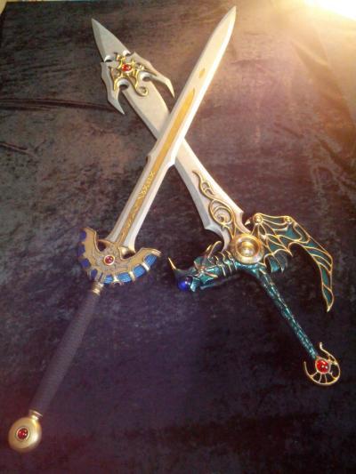 工房ミラージュ 武器庫 ロトの剣&天空の剣②