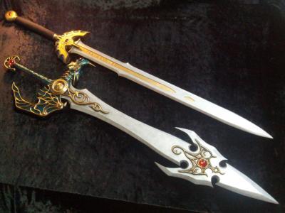 工房ミラージュ 武器庫 ロトの剣&天空の剣①