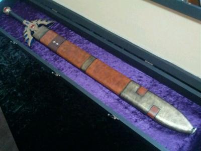 K様 ロトの剣修復&ディスプレイケース製作