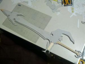 H様 天空の剣 製作過程写真