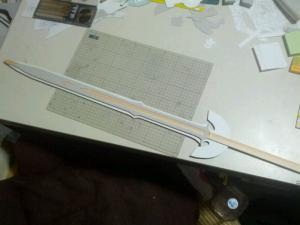 N様 ロトの剣(ドラクエ展 王者の剣ver)製作過程