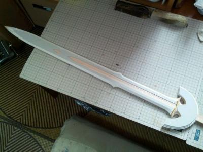 N様 ロトの剣(ドラクエ展ver) 製作過程 下地塗装