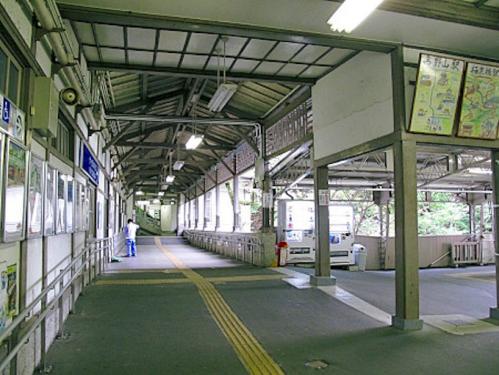 2012.08.04-高野山へ-極楽橋駅にて04