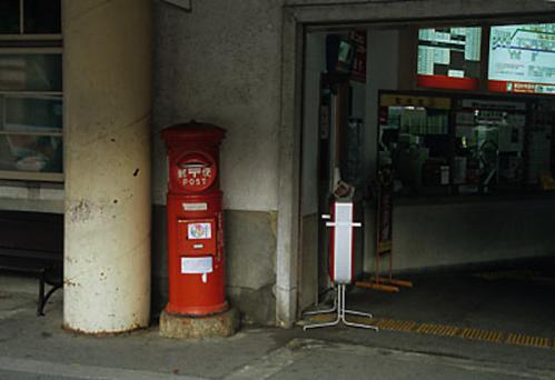 2012.08.04-高野山へ-高野山駅 駅舎にて06