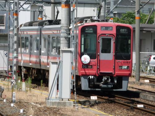 2012.08.04-高野山へ-橋本駅の列車06