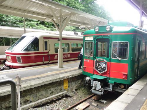 2012.08.04-高野山へ-極楽橋駅にて02