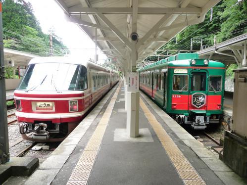 2012.08.04-高野山へ-極楽橋駅にて01
