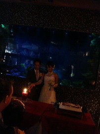 結婚パーティー