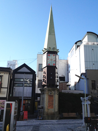 釜川時計塔1