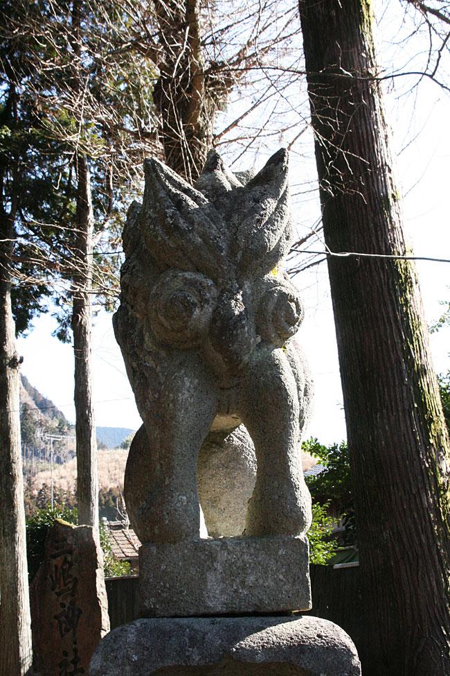 西明神・高殿神社