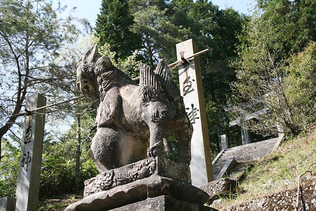 笠方・八社神社