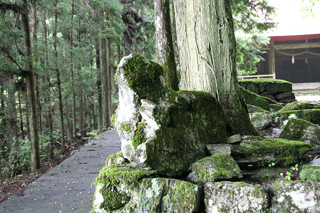 東川(簑川)・七柱神社