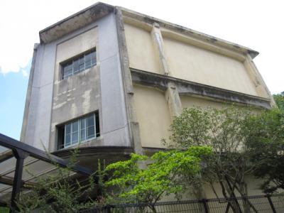 城山国民学校の階段塔屋