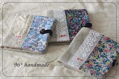 tissue cases blue