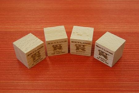 木製マグネットキューブ