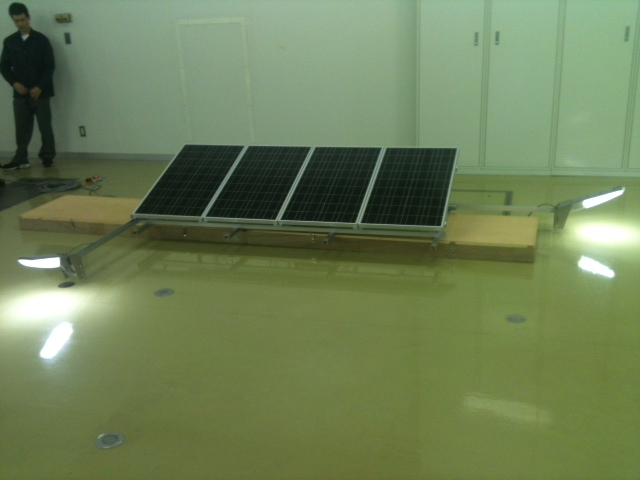 ソーラー装置2LED