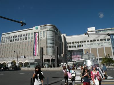 秋の札幌駅