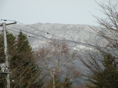 2012秋初積雪