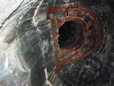 鎌倉大仏の胎内