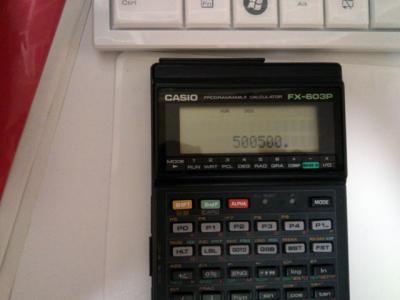 FX-603P