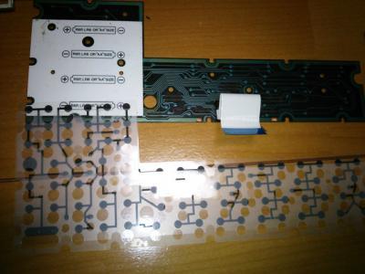 FX-870Pキーボード基板