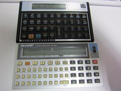 HP-15C & PC-1262