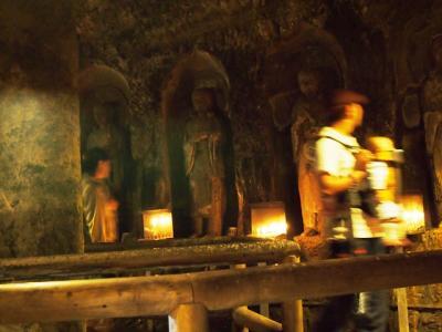 洞穴の内部