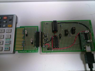 PC-1360Kに接続