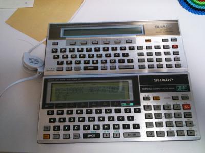 PC-1500とPC-1600K