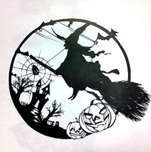 魔女ハロウィン